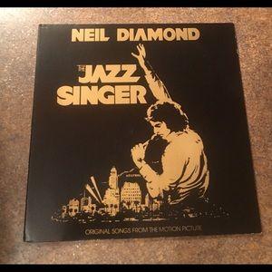 Neil Diamond The Jazz Singer Vinyl LP Album